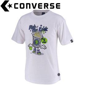 コンバース Tシャツ 裾ラウンド メンズ CBE291315-1100