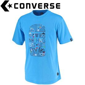 コンバース Tシャツ 裾ラウンド メンズ CBE291318-2200