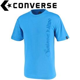 【ゆうパケット配送】 コンバース Tシャツ 裾ラウンド メンズ CBE291319-2200