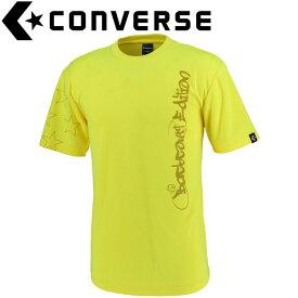 【ゆうパケット配送】 コンバース Tシャツ 裾ラウンド メンズ CBE291319-5200F