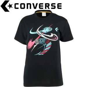 【ゆうパケット配送】 コンバース バスケットボール ジュニアプリントTシャツ CB401354-1900
