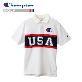 【クリアランスセール】チャンピオン ポロシャツ ゴルフ C3-PG302-010 メンズ 19SS