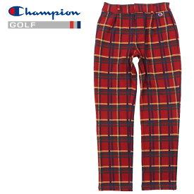 【クリアランスセール】 チャンピオン ゴルフ ロングパンツ ストレッチジャージー C3-SG205-940 メンズ 2020 秋冬