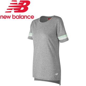 ○17FW NewBalance(新平衡)訓練T恤短袖束腰長上衣女士NB Athletics束腰長上衣T WT73510-AG