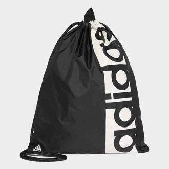 ○17SS adidas (Adidas) linear logo gym bag BVB29-S99986 men