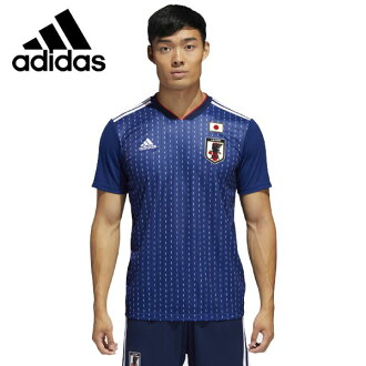 Adidas soccer representative from Japan home replica uniform short sleeves DRN93-CV5638 spring of 2018 summer