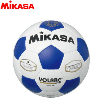 ○ミカサボラーレサッカーボール official approval ball 4 SVC401-WBL elementary school of old China MIKASA