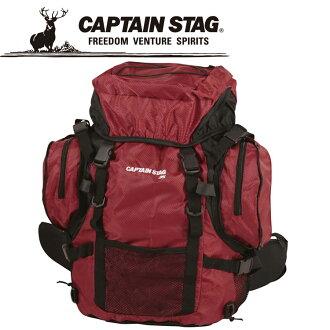 船長標簽FEELBOSCO山間途步帆布背包35 R M9849 CAPTAIN STAG