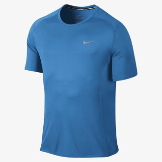 ○ 16SP NIKE (Nike) DRI-FIT Mylar 2 UV S/S top 683528-435 men
