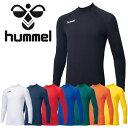 ★最終処分!★16FW hummel(ヒュンメル) あったかインナーシャツ HAP5143メンズ サッカー コンプレッションウェア 長袖