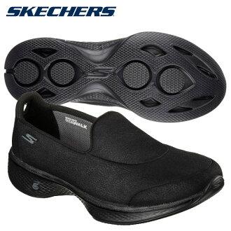 ○17 SP SKECHERS(스켓챠즈) 슬립 온 슈즈 레이디스 GO WALK 4 - INSPIRE 14166 BBK