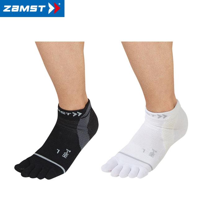 【ゆうパケット配送 代引不可】 ZAMST(ザムスト) HA-1メッシュ ソックス 5本指 【足底のパフォーマンス維持に】