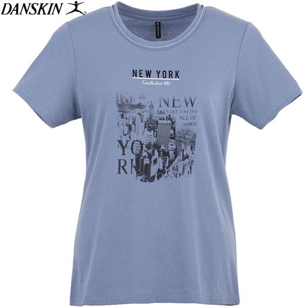 ★最終処分!★17SS DANSKIN(ダンスキン) 半袖Tシャツ レディース トレーニング フィットネス DB77161-BS