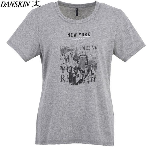 ★最終処分!★17SS DANSKIN(ダンスキン) 半袖Tシャツ レディース トレーニング フィットネス DB77161-Z