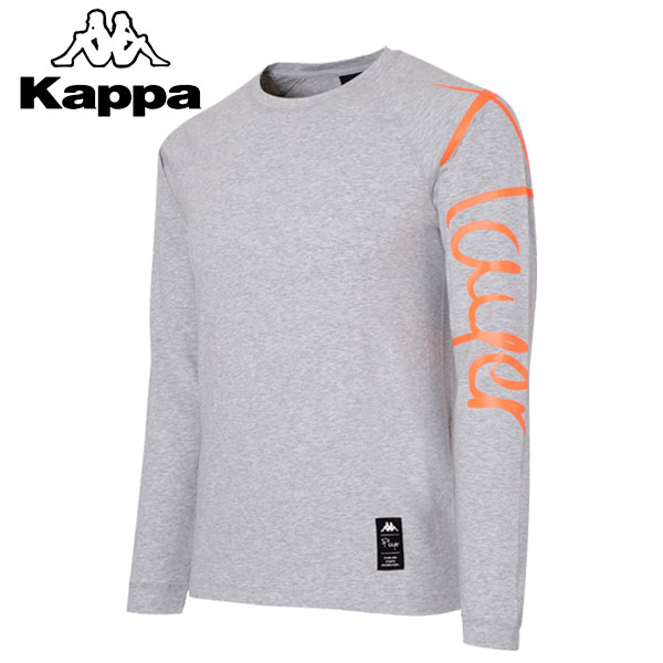 ★17FW Kappa(カッパ) 長袖Tシャツ メンズ トレーニング KL752TL01