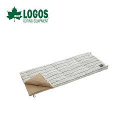 ◇LOGOS理性棉布睡袋.2(大頭針條紋)72683003