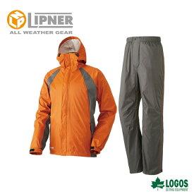 LIPNER リプナー 2.5レイヤーレインスーツ ノーマン オレンジ 2842056 レインウェア メンズ