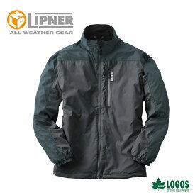 LIPNER リプナー 軽量あったかウインドブレーカー ウィルソン ブラック 3078671 防水防寒ウェア メンズ