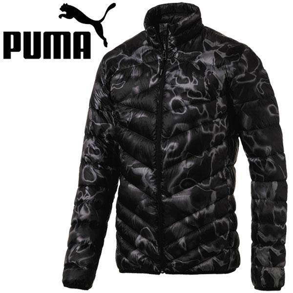 プーマ トレーニング ジャケット ダウン メンズ パッカブル LITE ダウンジャケット AOP 594593