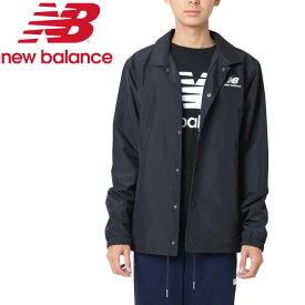 【クリアランスセール】ニューバランス クラシックコーチスタックドジャケット AMJ91521-BK メンズ