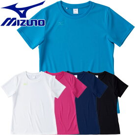 【最終処分】 【ゆうパケット配送】 ミズノ NAVIドライ 半袖Tシャツ レディース 32MA5335