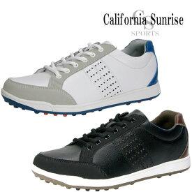 カリフォルニアサンライズ スパイクレス ゴルフシューズ メンズ CSSH-3611 California Sunrise