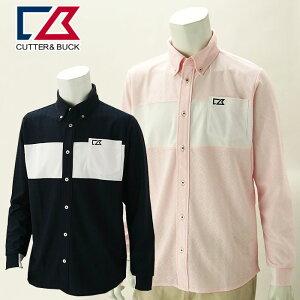 【クリアランスセール】 カッター&バック 半袖シャツ メンズ 春夏 ゴルフウェア CGMPJB30NK