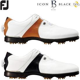 フットジョイ アイコン ブラック ボア メンズ ゴルフシューズ ICON BLACK Boa FOOTJOY