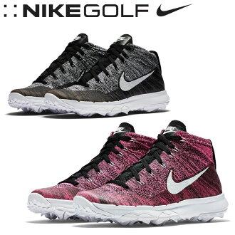 NIKE GOLF (Nike Golf) FLYKNIT CHUKKA (flint chukka) women's golf shoes in 2016, model 819006