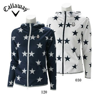 Calloway golf wear Lady's long sleeves zip parka 7110807
