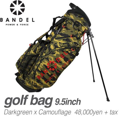 バンデル スタンド キャディバッグ 9.5型 BANDEL GOLF BAG
