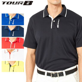 【クリアランスセール】 【ゆうパケット配送】 ブリヂストンゴルフ TOUR B ゴルフウェア メンズ 半袖ポロシャツ JGM01A 2018春夏