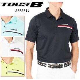 【クリアランスセール】 ブリヂストンゴルフ TOUR B ゴルフウェア メンズ 半袖ポロシャツ NGM05A 2019春夏