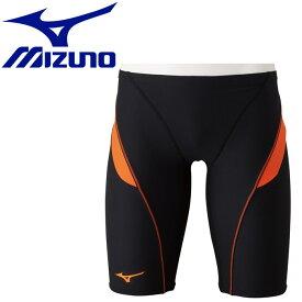 ミズノ スイム 競泳練習用ハーフスパッツ メンズ N2MB807894