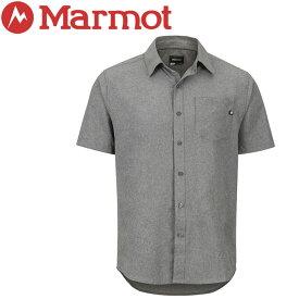 【クリアランスセール】 【ゆうパケット配送】 マーモット Aerobora H/S Shirt 半袖シャツ メンズ TOMNGA4210-1415