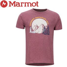【クリアランスセール】 【ゆうパケット配送】 マーモット Boback H/S Crew Tシャツ メンズ TOMNGA4271-6823