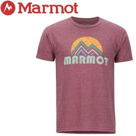 【クリアランスセール】 【ゆうパケット配送】 マーモット Pt Reyes H/S Crew Tシャツ メンズ TOMNGA4423-6823