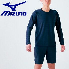 【ゆうパケット配送】ミズノ トレーニングウエア Tシャツ (長袖) メンズ 32MA054009