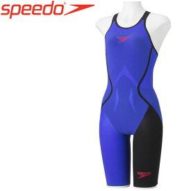 スピード Fastskin LZR Racer J ファストスキン レーザーレーサージェイ ニースキン 競泳 水着 レディース SD48H03-BL