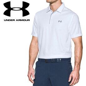 【クリアランスセール】 アンダーアーマー ゴルフ ポロシャツ テックポロ 1290140 メンズ 19SS