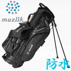 ムジーク ウォータープルーフ スタンド キャディバッグ MCB-2020-WP WATER PROOF STAND BAG 2020モデル