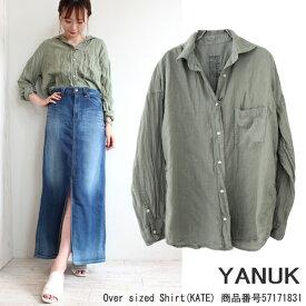 SALE ヤヌーク,YANUK,Over Sized Shirt(KATE),シャツ,オーバーシャツ,送料無料,57171831