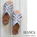 2005BU-1894-VA,Bianca,ビアンカ,新作,編み上げペタンコサンダル,サンダル,21SS,送料無料,インスタ