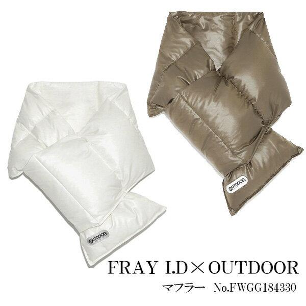 【スーパーSALE 10%OFF】フレイアイディー FRAY I. マフラー コラボマフラー 小物 ファッション雑貨 18AW fwgg184330