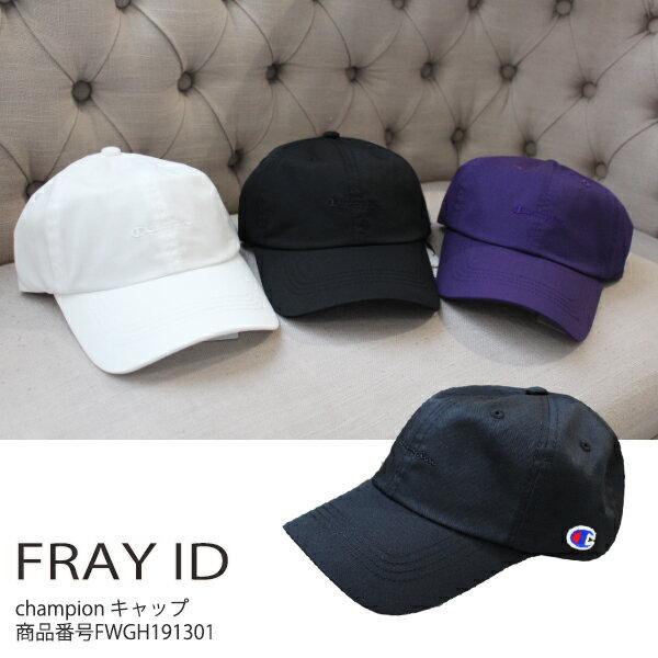 フレイアイディー Championキャップ キャップ 帽子 ファッション雑貨 FRAY I.D 19SS FWGH191301