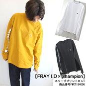 フレイアイディースリーブプリントロンTロンTTシャツトップスFRAYI.D19AW送料無料FWCT194006
