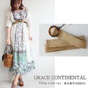 グレースコンチネンタルアクリルバックルベルトバックルベルトベルトファッション雑貨GRACECONTINENTAL19SS19286531