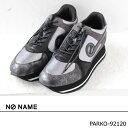 NO NAME,ノーネーム,,コードストッパー付きラグジュアリープラットフォームスニーカー,PARKO-92120,19AW,新作,送料無料