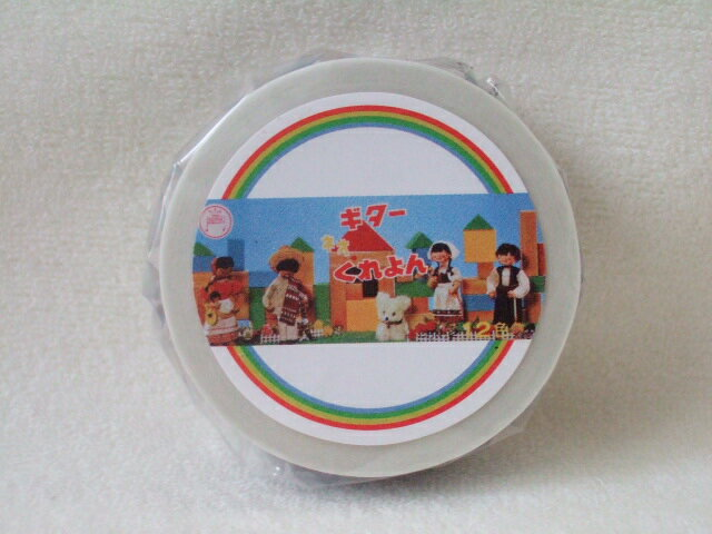 カモ井 カモイ(紙 テープ)mt マステ 15mm  kitera コラボシリーズ くれよん マスキングテープ