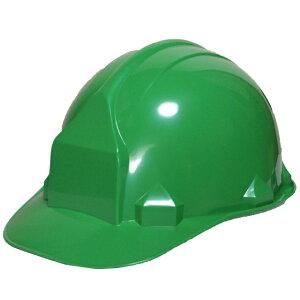 一般作業/工事用ヘルメット・グリーン・FN2-1(ABS樹脂・内装一式/ワンタッチあご紐/ライナーなし)